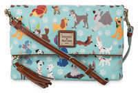 Disney Dogs Foldover Zip Crossbody Bag - Dooney & Bourke