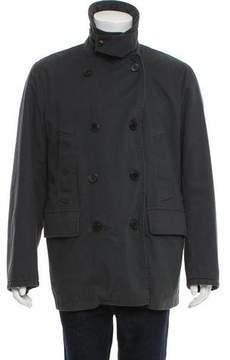 Dries Van Noten Woven Double-Breasted Jacket