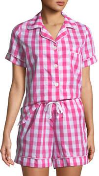 BedHead Gingham Shorty Pajama Set, Plus Size