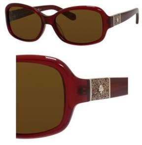 Kate Spade Sunglasses Cheyenne/P/S JJXP Milky Red / VW brown polarized lens