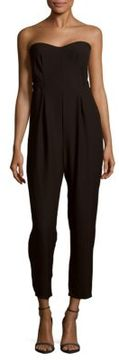 Collective Concepts Solid Strapless Jumpsuit