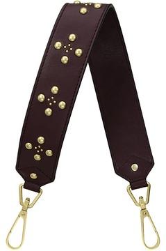 Vera Bradley Carson Embellished Leather Strap Handbags - BITTERSWEET CHOCOLATE - STYLE