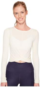 Alo Cover Long Sleeve Top Women's Clothing