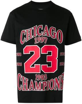 Ih Nom Uh Nit Chicago 23 printed loose T-shirt