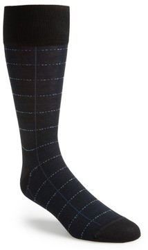 John W. Nordstrom Men's Broken Grid Socks