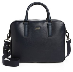 Ted Baker Leather Document Bag - Blue