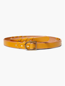 Lucky Brand BRAIDED PULL THROUGH BELT