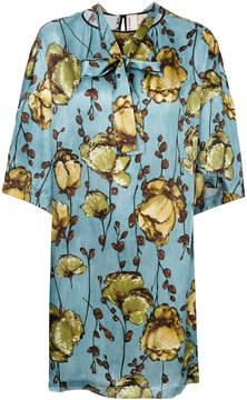 Antonio Marras silk flower dress