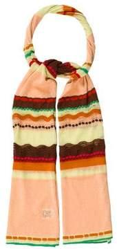 M Missoni Knit Stripe Scarf