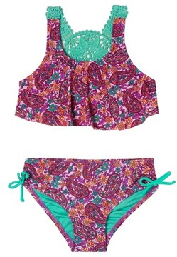 Hula Star Toddler Girl's Paisley Dream Two-Piece Swimsuit