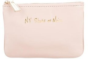 Rebecca Minkoff Cory Leather Coin Pouch w/ Tags - NEUTRALS - STYLE