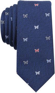 Bar III Men's Butterfly Conversational Skinny Tie, Created for Macy's