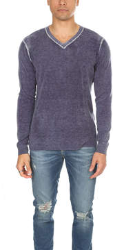 Blue & Cream Blue&Cream Inked V Neck Pullover
