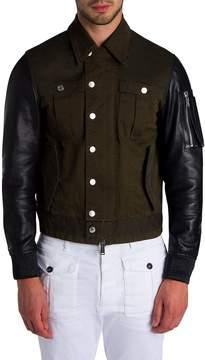 Viktor & Rolf Men's Military Mix Jacket