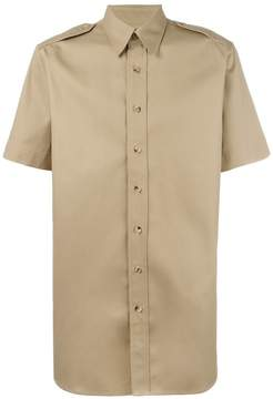 Palm Angels college safari shirt