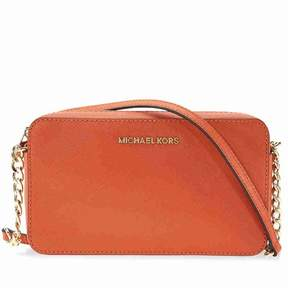 Michael Kors Jet Set Travel Medium Crossbody - Orange - ORANGE - STYLE