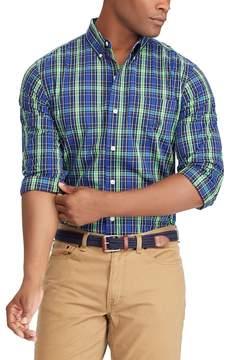 Chaps Big & Tall Classic-Fit Stretch Button-Down Shirt