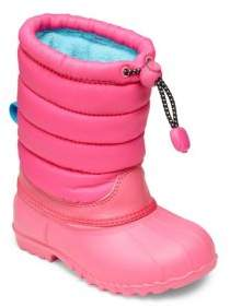 Native Baby's, Toddler's & Kid's Elastic Cord & Pull Toggle Boots