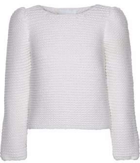 Co Bouclé-Knit Merino Wool Sweater