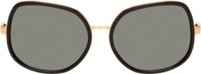 Linda Farrow Luxe Women's Tinted Oversized Butterfly Frame
