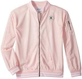 Converse Mesh Bomber Girl's Coat