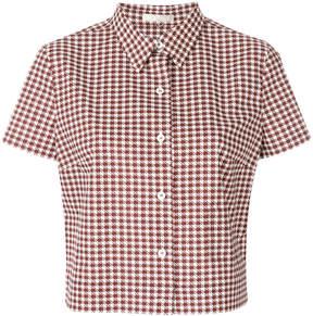 Mantu houndstooth shirt