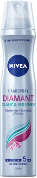 Nivea Diamond Gloss + Volume Extra Hold Hair Spray by 250ml)