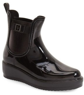 dav Women's 'Wakefield' Waterproof Platform Rain Chelsea Boot
