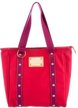 Louis Vuitton Antigua Cabas MM - RED - STYLE