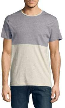 Selected Colorblocked Tee
