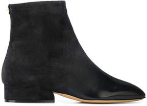 Salvatore Ferragamo polished toe boots