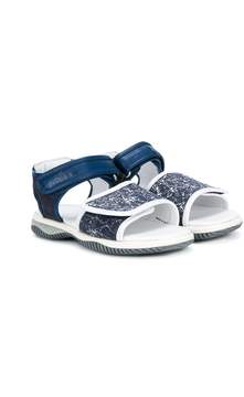 Hogan touch strap sandals