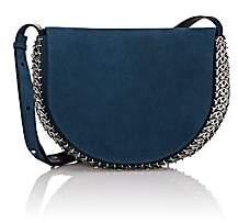 Paco Rabanne Women's 14#02 Half Moon Shoulder Bag - Blue