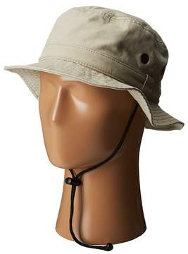 San Diego Hat Company CTH3525 Outdoor Hat w/ Chin Cord Caps