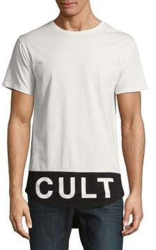 Cult of Individuality Scoop-Bottom Cotton Tee