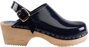Cape Clogs Navy Patent Clog