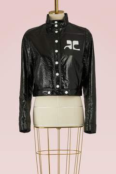 Courreges Logo short jacket