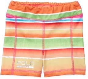 Ralph Lauren | Stretch Jersey Short | 18-24 months | Pink/orange multi