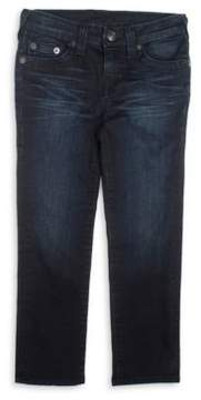 True Religion Boy's Geno Single End Jeans