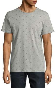 Jack and Jones Printed Cotton Tee