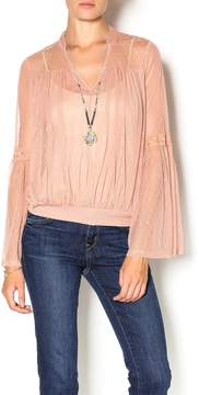Double Zero Rose Quartz Blouse
