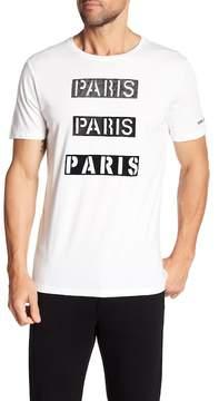 Karl Lagerfeld Short Sleeve Paris Tee