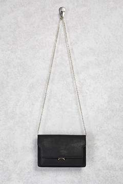 Forever 21 Chain Faux Leather Crossbody