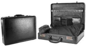 Kenneth Cole Reaction Lock and Roll Leather Attache Case
