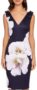 Ted Baker Soleia Gardenia Bow-Detail Dress