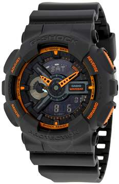 Casio G-Shock Grey and Orange Resin Men's Watch