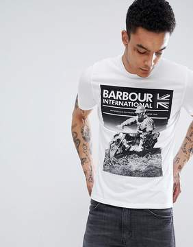Barbour International Archive T-shirt in White