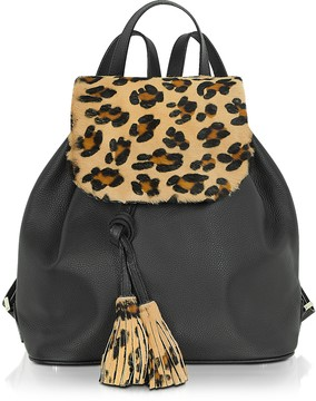 Fontanelli Calfhair and Leather Backpack
