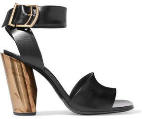 Jil Sander Leather Sandals - Black