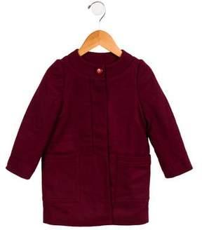 Little Marc Jacobs Girls' Collarless Jacket